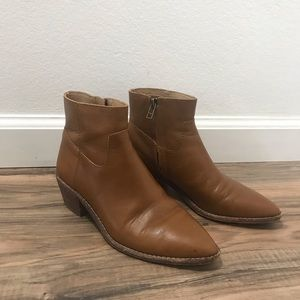 Madewell Charley ankle bootie